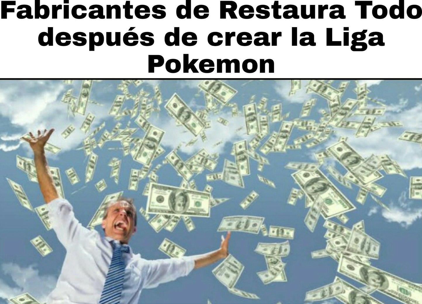 Dinero infinito - meme