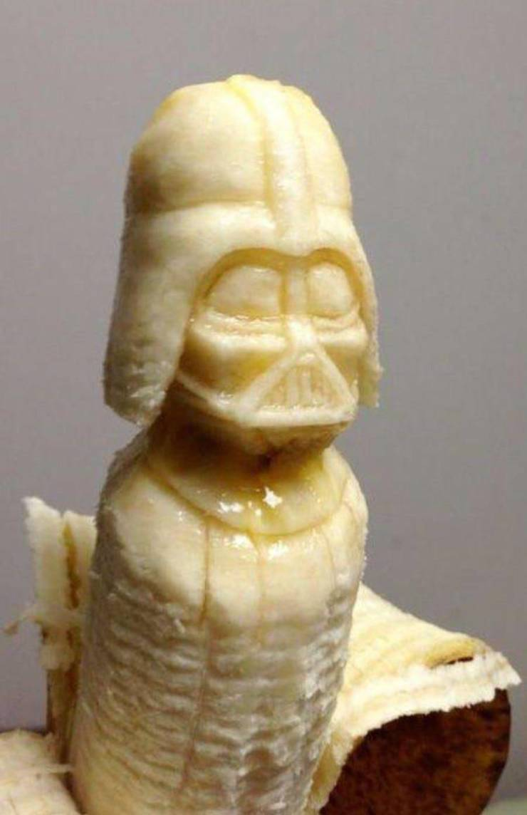 I just hate it when bananas go bad before you get a chance to eat them. Especially when they're covered with darth spots. - meme