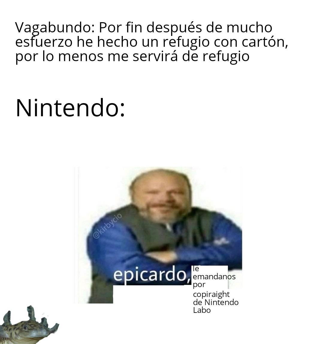Nintendo ninteando otra vez - meme