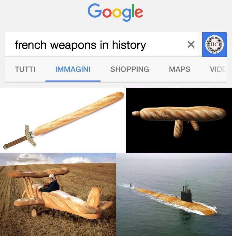 Baguettes - meme