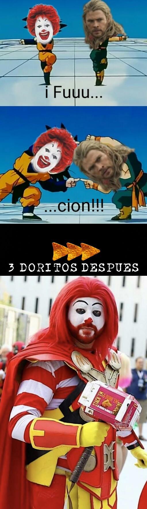 MC Vengadores - meme