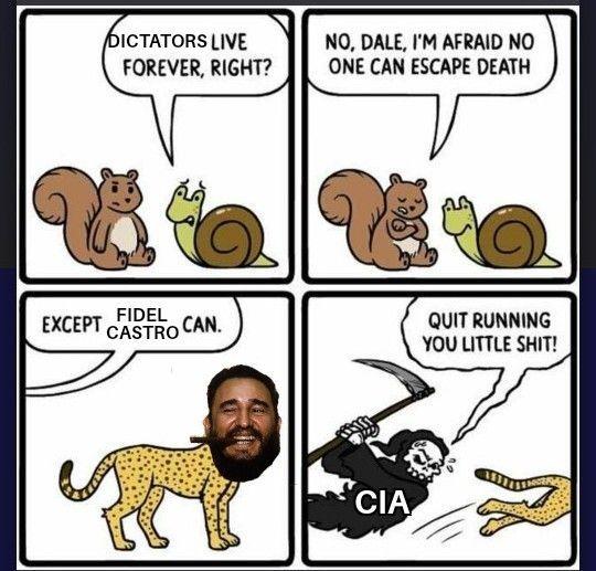 he is like rasputin but caribbean - meme