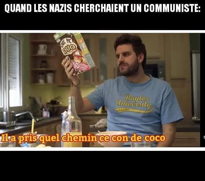 Couic les communistes - meme