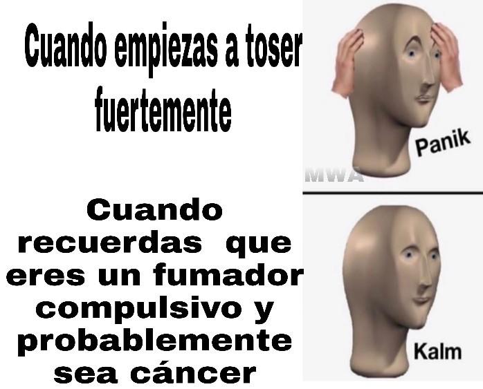 Un susto - meme