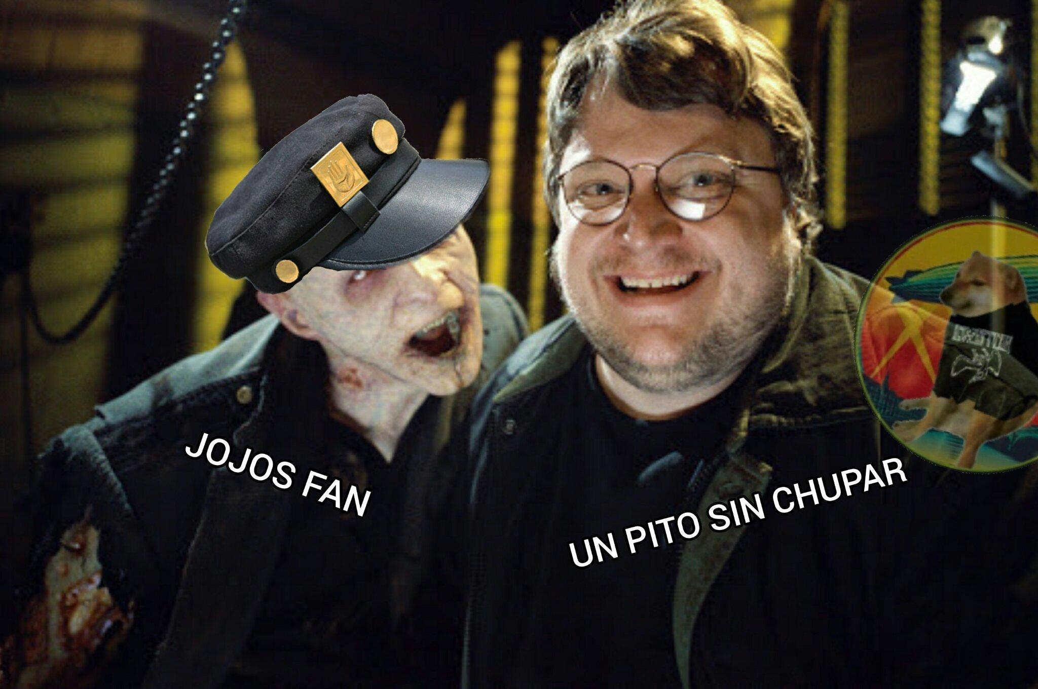 Estos jojofans - meme