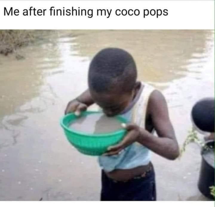 Choco milk - meme