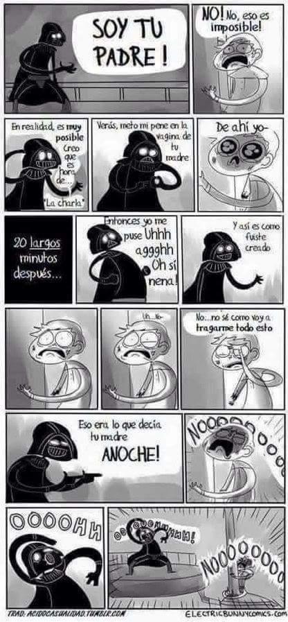Ese Vader :v, perdón por la calidad :'v - meme