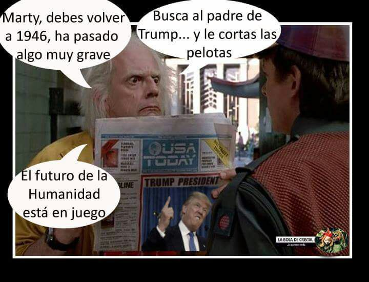 Maldito Trump - meme
