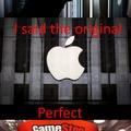 quando finisci le idee, ma ti ricordi che esiste apple