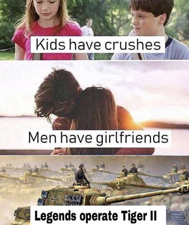 J'aime les tanks - meme