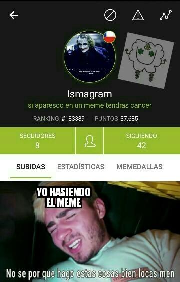 Ahora tengo cancer :'-) - meme