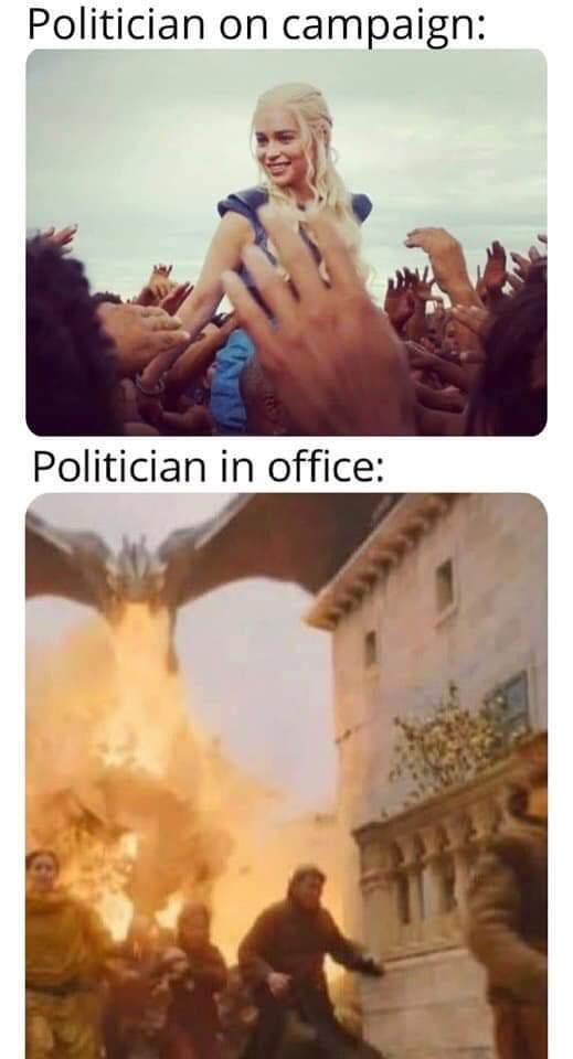 Burner of peasants - meme