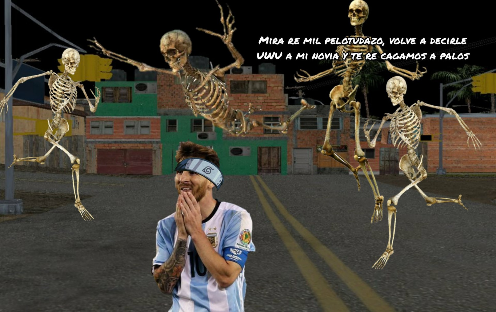 Messi Otaku ediondo - meme