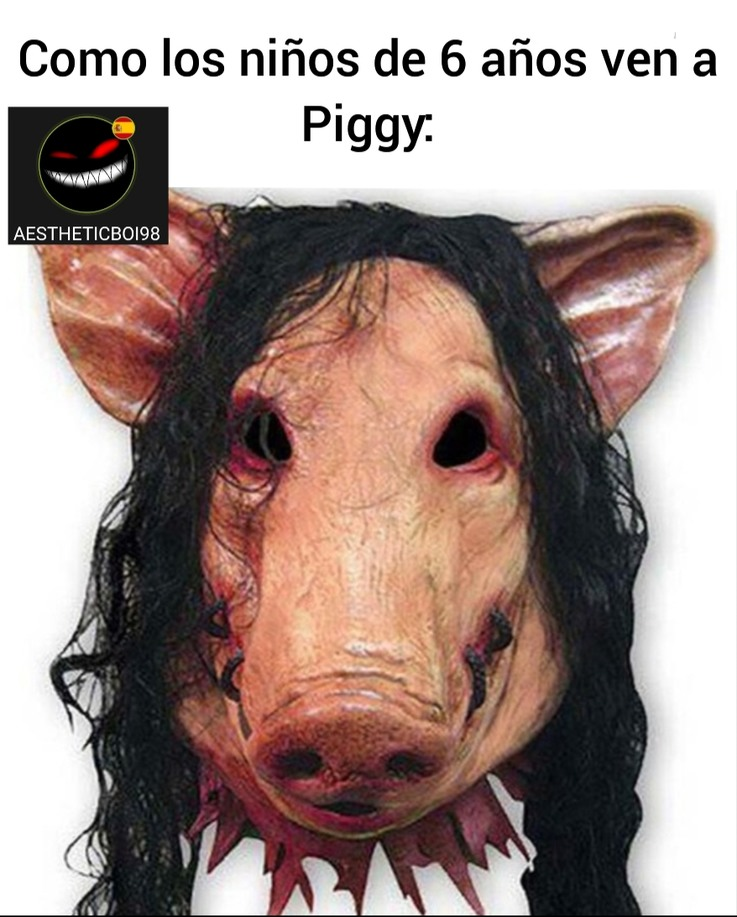 Piggy el nuevo aceptado fácil - meme