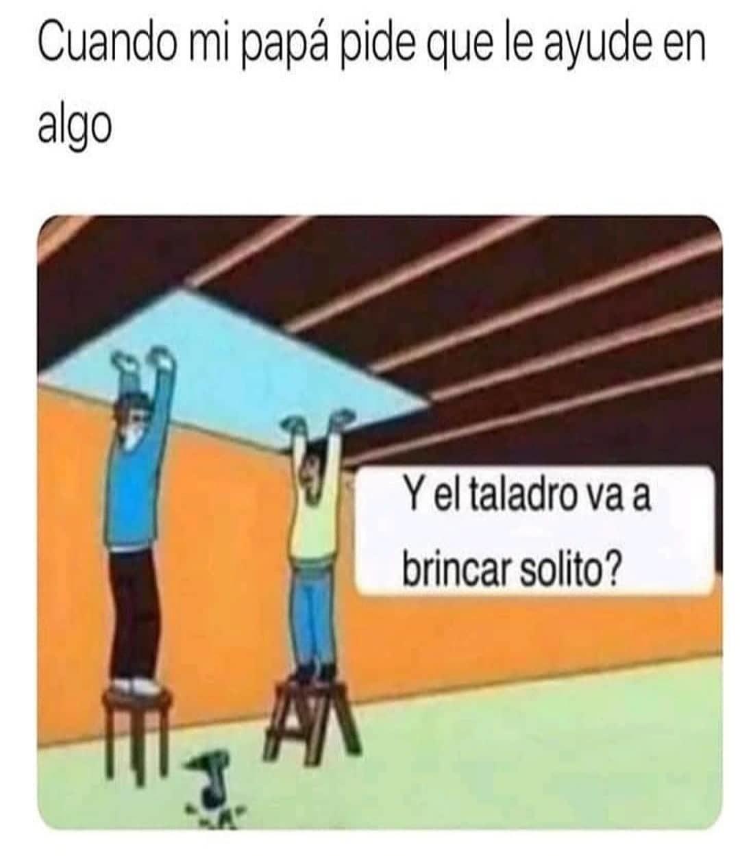 :( perdón Pá - meme