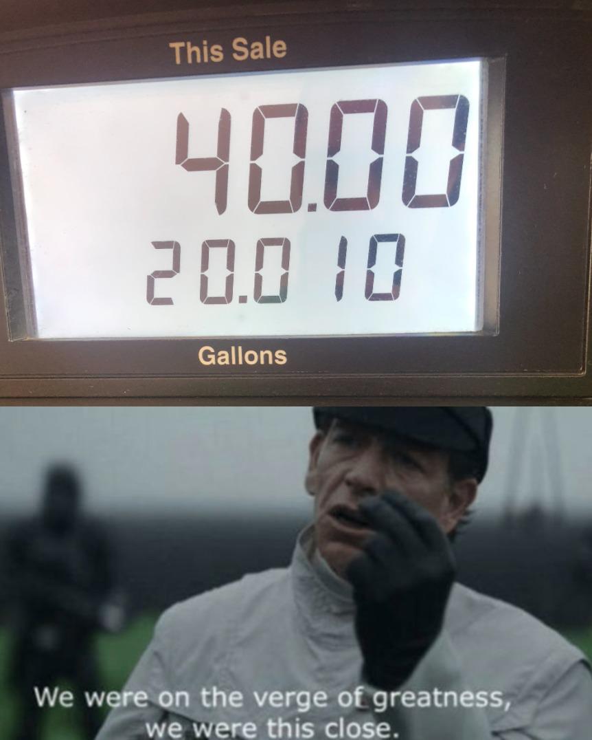 i wish gas was still this cheep - meme