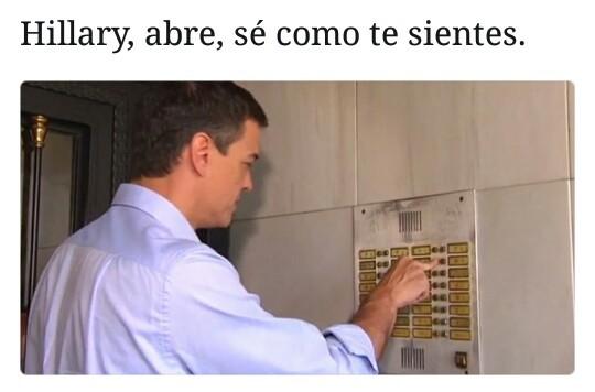 Pedro Sánchez ya no está sólo - meme