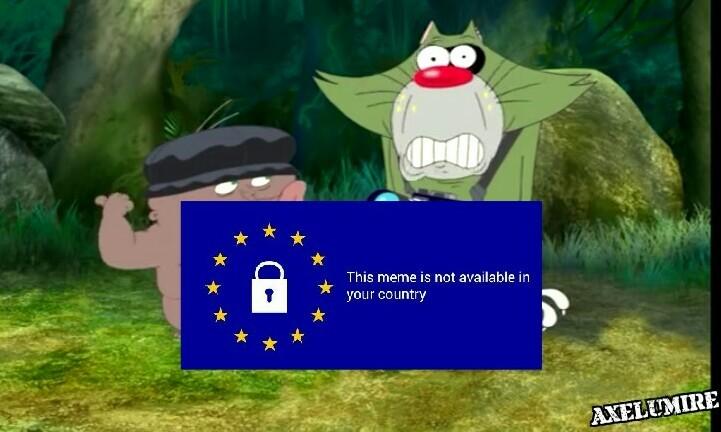 """""""Ce meme n'est pas autorisé dans votre pays"""""""
