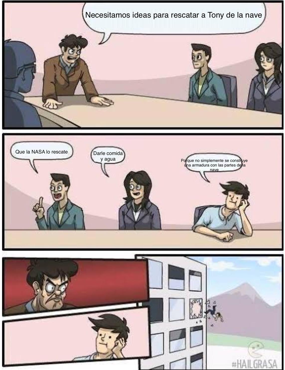 Eso tiene mas sentido - meme