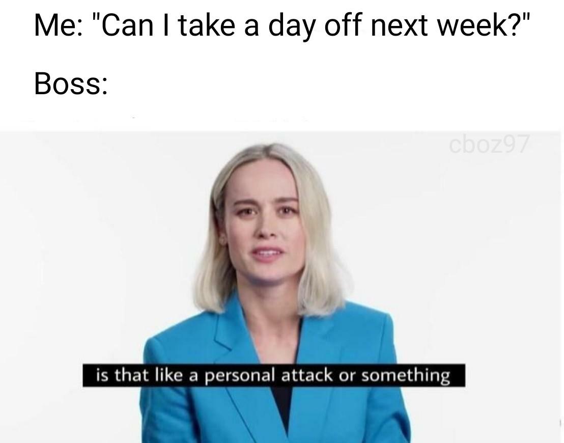 bosses, amirite - meme