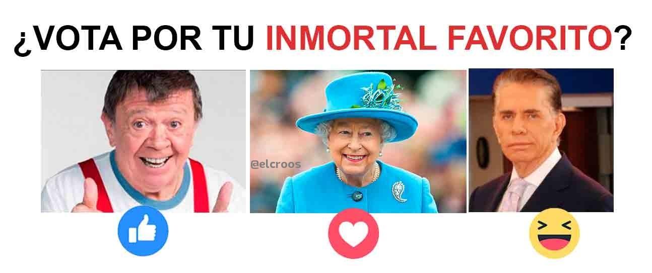 Los inmortales - meme