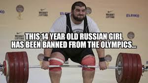russian olympics - meme