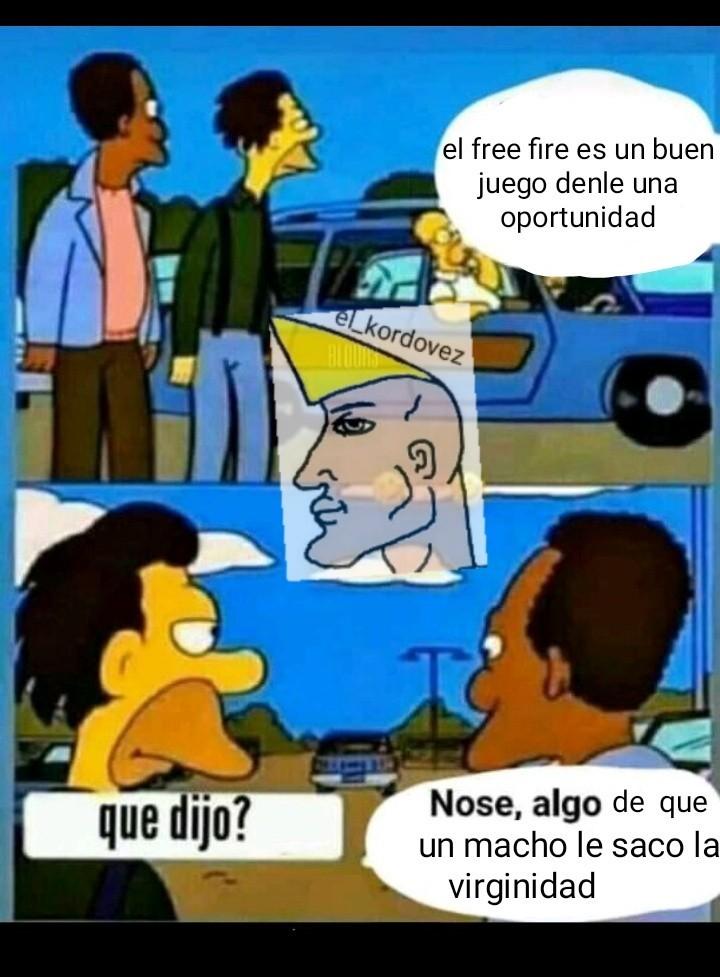 Caca=free fire - meme