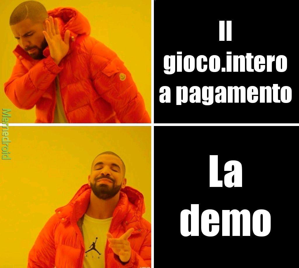 Demo vs completo & € - meme