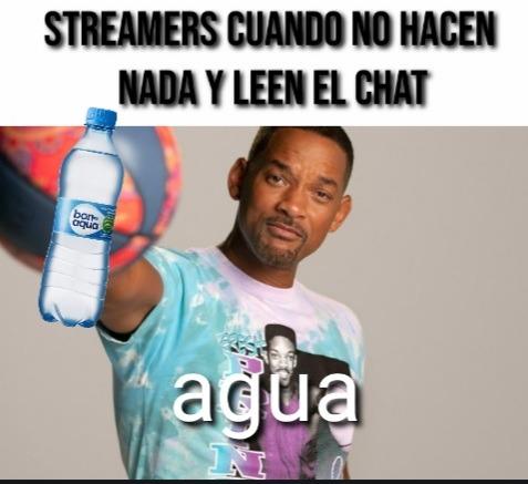 Agua - meme