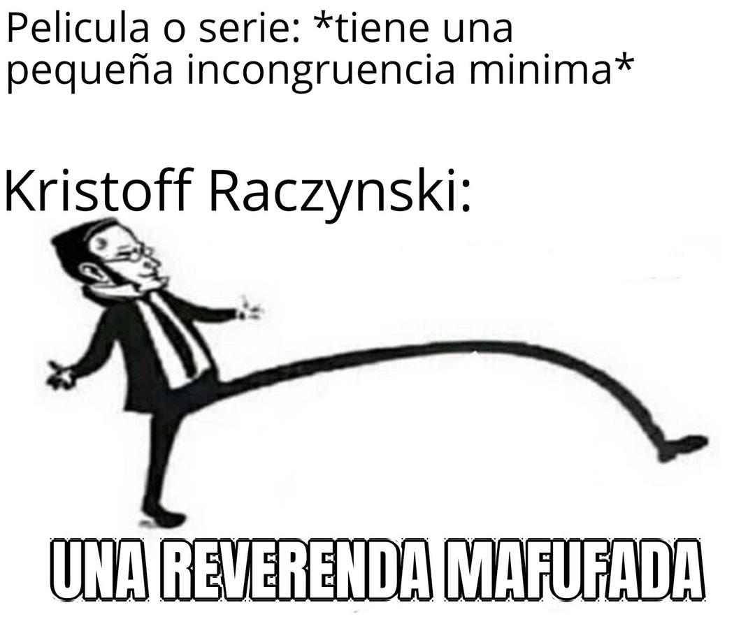 Kristoff Raczynski - meme