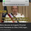 Pinochet n fez nada de errado