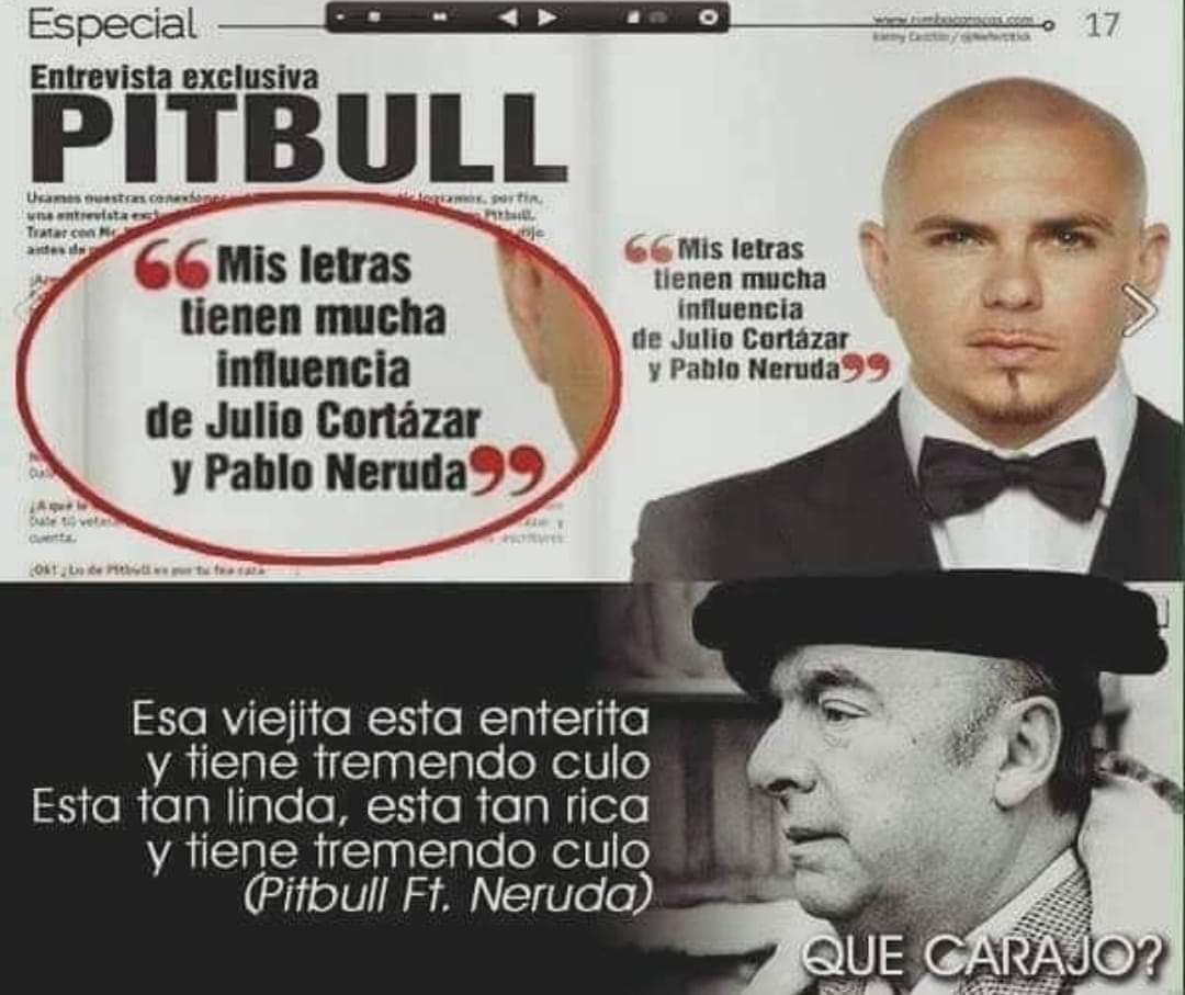 Ese Pablo Neruda es todo un lokillo - meme