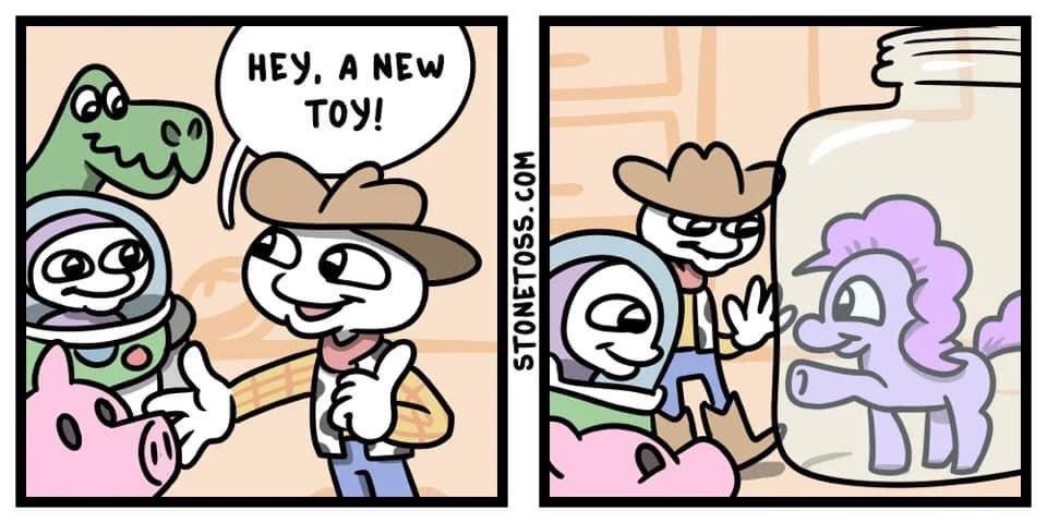 Brinquedo - meme