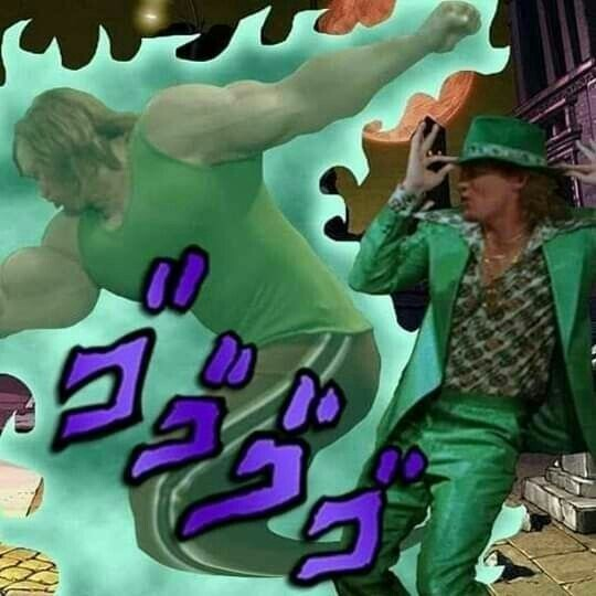Chagi jojo - meme