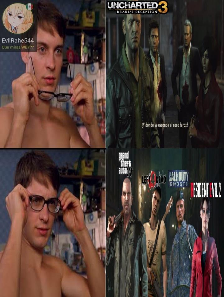 Uncharted 3 - meme