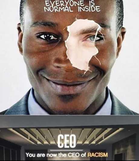 You ain't black - meme