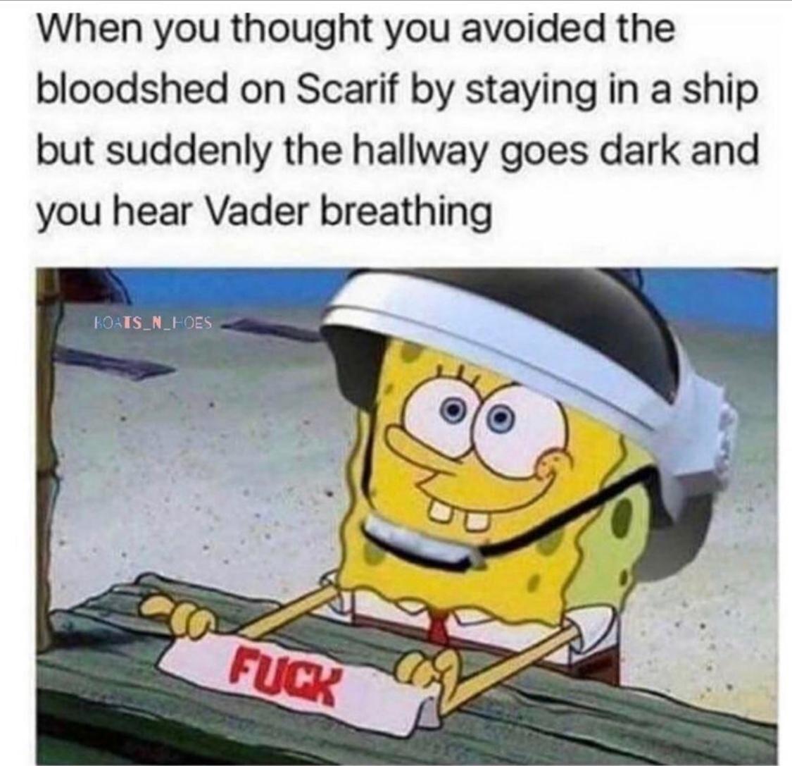 best Star Wars scene in the last 10 years - meme