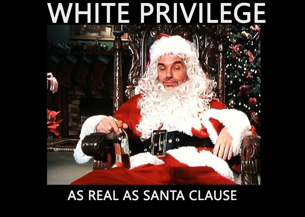 White privilege - meme