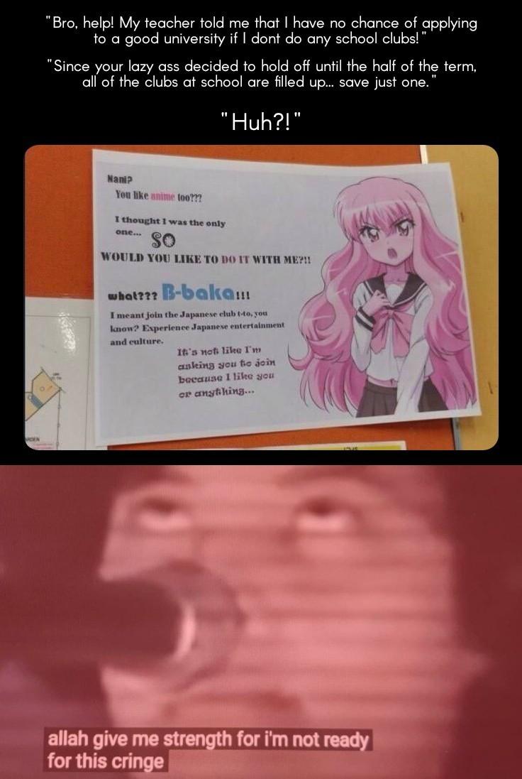 Cringe of the highest order - meme