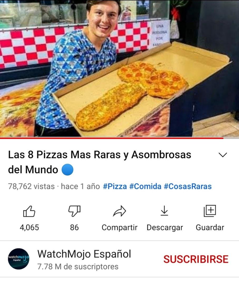 La pizza de tu vieja: - meme