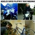 titulo foi de bike