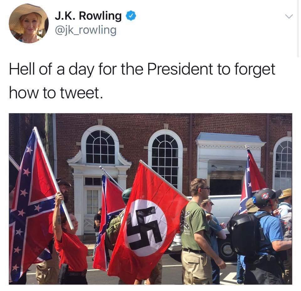 Trumps fans hard at worl - meme