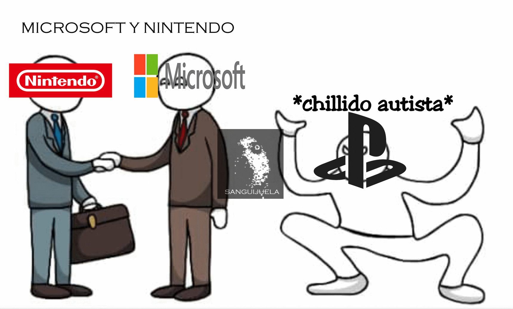 alguien emulo x-box en la switch - meme