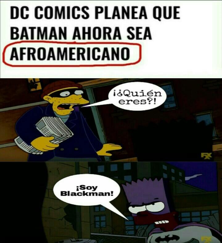 ¡Blackman! - meme