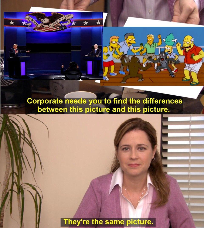 Les élections - meme