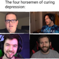 The four horsemen of curing depression