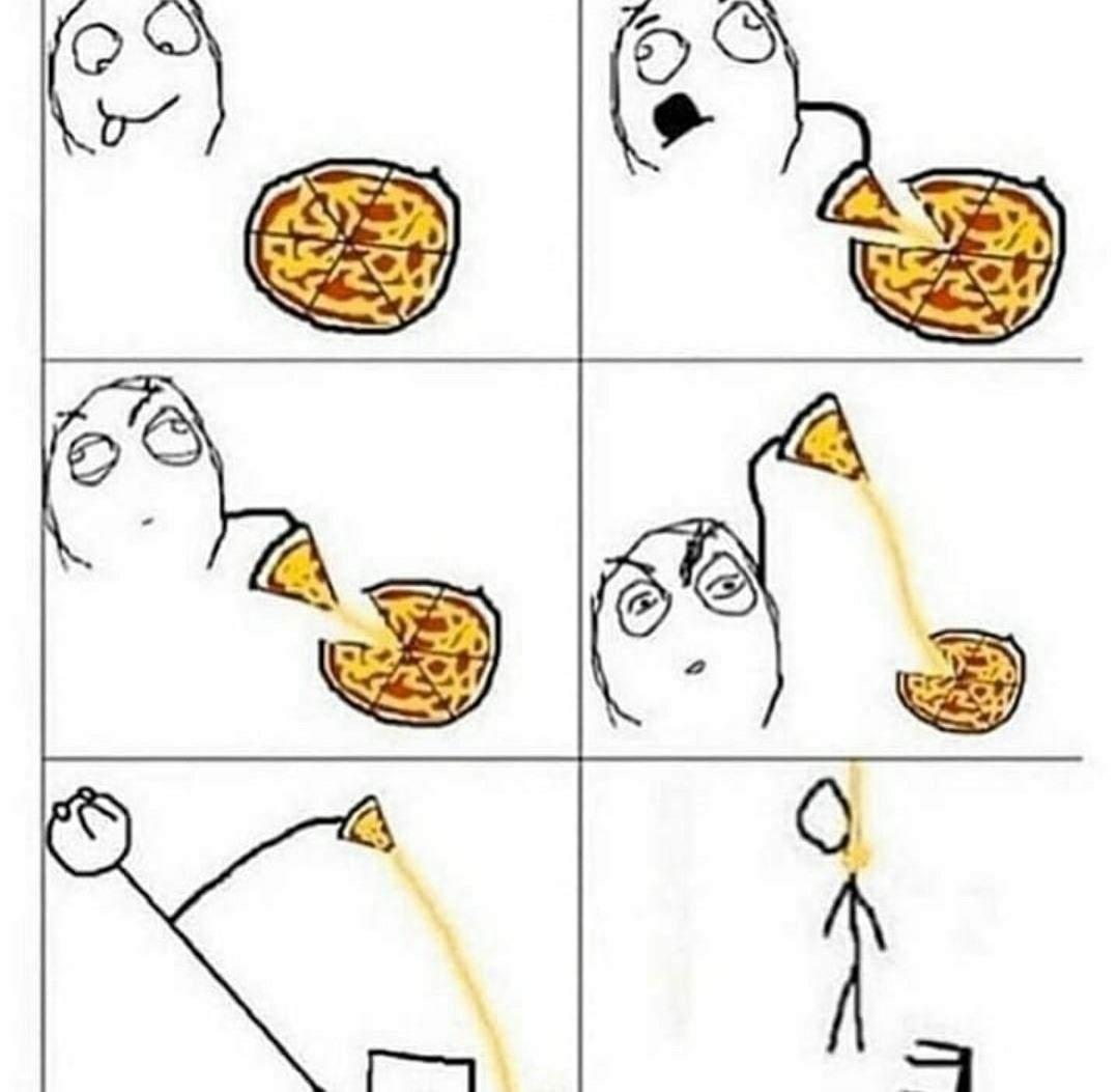 Pizza time - meme