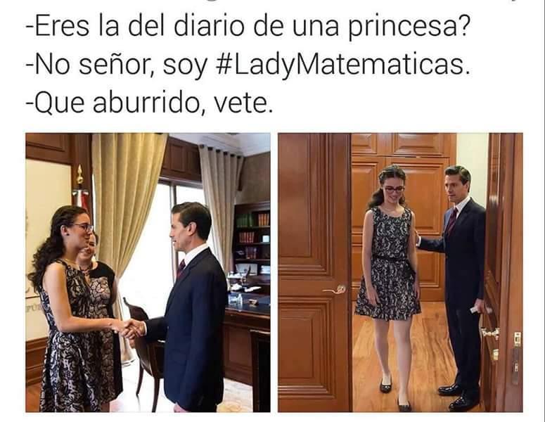 Ladymatematicas - meme