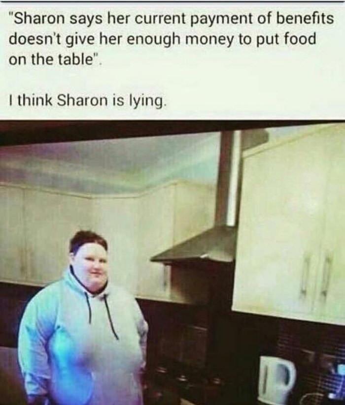 god dammit Sharon - meme