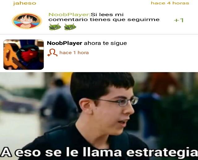 Plantilla de NoobPlayer - meme